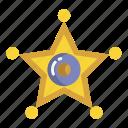 sheriff, badge