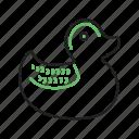 animal, beautiful, bird, duck, ducks, water, wild icon