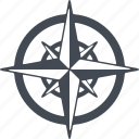 air, nature, stream, weather, whirlwind, wind, wind rose icon