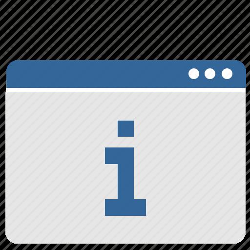 data, info, ui, window icon