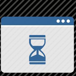 loading, time, ui, wait, window icon