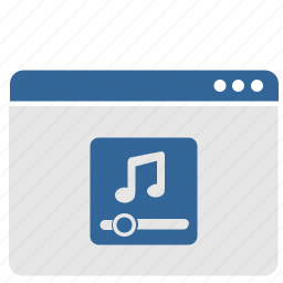 minimum, music, option, sound, volume, window icon