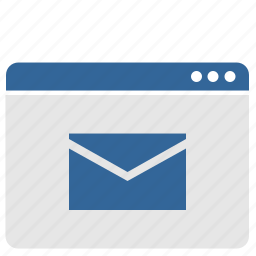 mailbox, message, new, ui, window icon