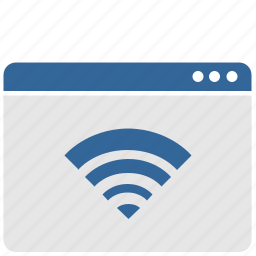 control, ui, wifi, window icon