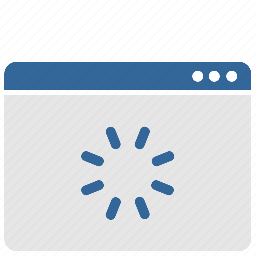 loading, process, ui, wait, window icon