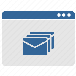 letters, mailbox, message, ui, window icon