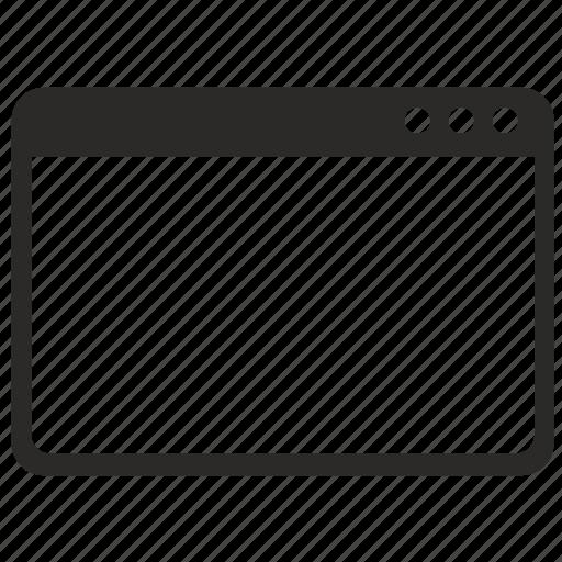 api, classic, form, window icon