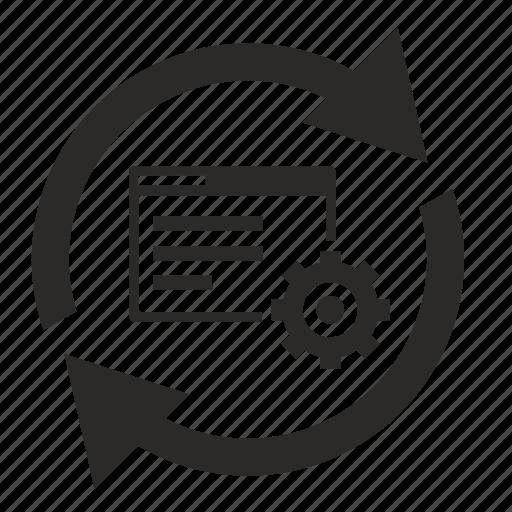 api, gear, reload, settings, upload, window icon