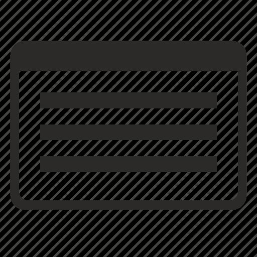 api, form, text, window icon