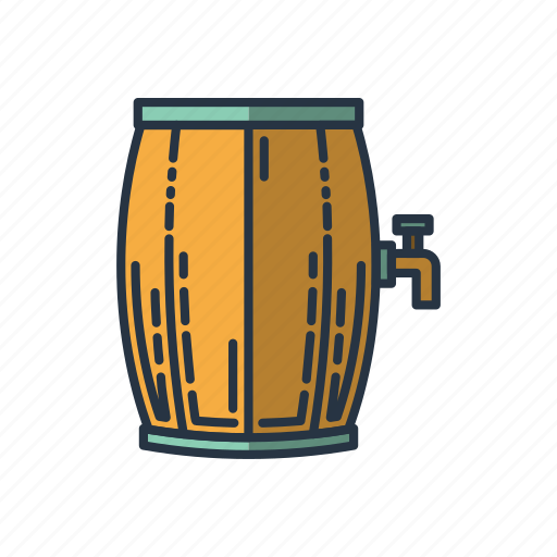 alcohol, drinking, drinks, party, wine, wine barrel icon