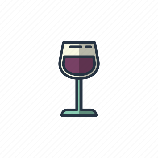 alcohol, cheers, drinking, glass, restaurant, wine icon
