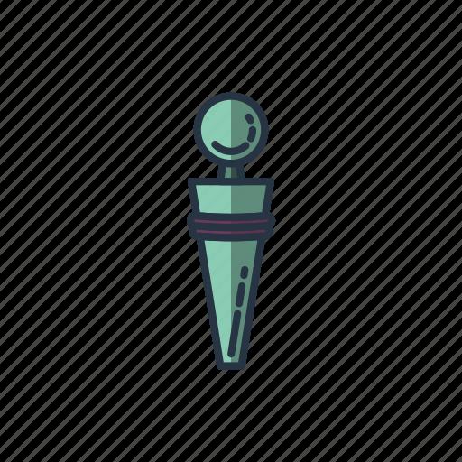 bottle, bottle cap, closure, drinking, restaurant, wine icon