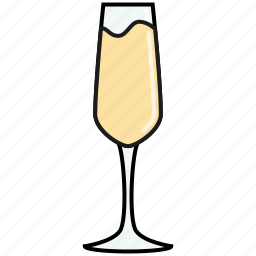celebration, champagne, drink, flute, party, wedding, wine icon