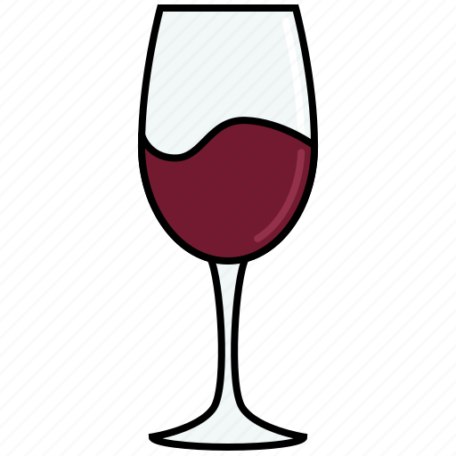 alcohol, cabernet, dinner, drink, glass, red, wine icon