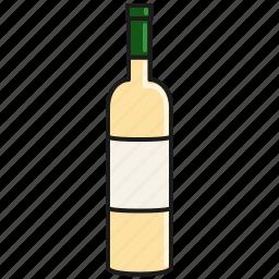 alcohol, beverage, chablis, drink, sauvignon, white, wine icon