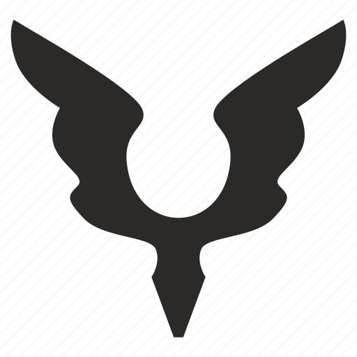 ancient, angel, figure, saint, wings icon