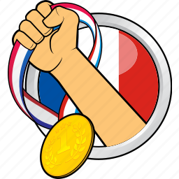 champion, competition, france, sport, sport event, winner, winning icon