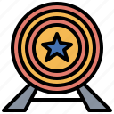 goal, mission, prize, process, subject, target, winner icon