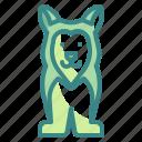 animals, dog, husky, pet, siberian icon