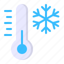 cold, snow, temperature, thermometer, weather