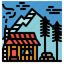 buildings, cabin, house, property, residential
