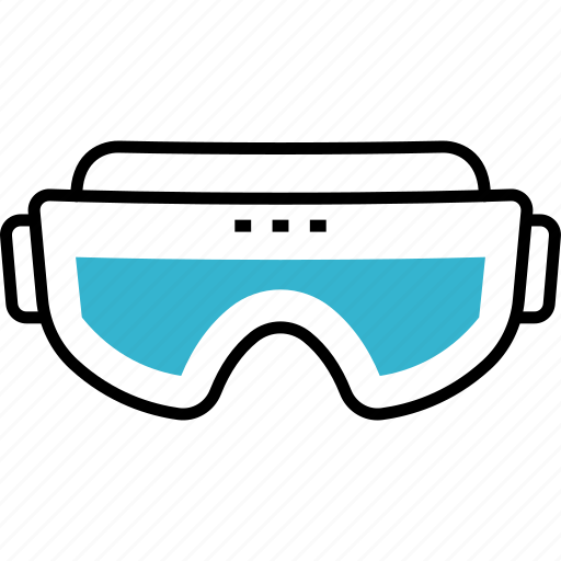 Glasses, protection, winter, smartglasses, goggles icon - Download on Iconfinder
