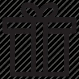 box, christmas, gift, toy, winter icon