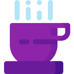 beverage, coffee, cup, drink, hot, restaurant, tea icon