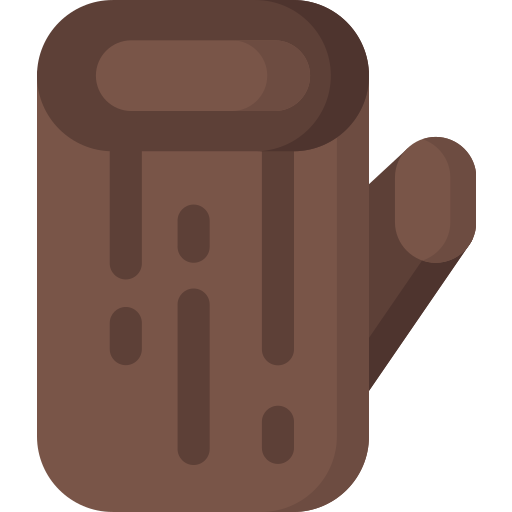 furniture, home, households, jungle, trunk, wood icon