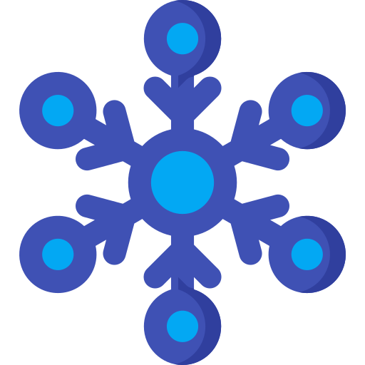christmas, cold, forecast, snowflake, weather, winter icon