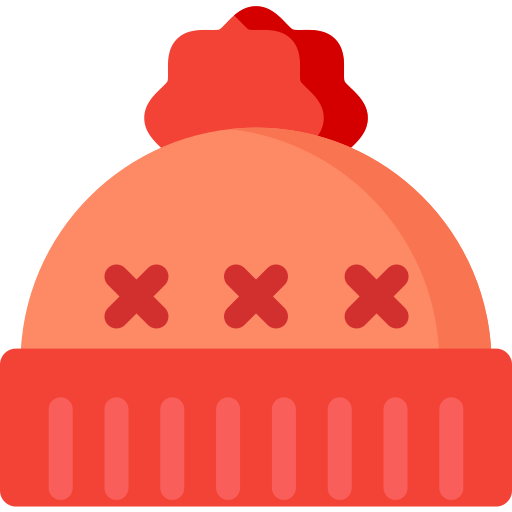 christmas, clothes, hat, holiday, snow, winter, xmas icon
