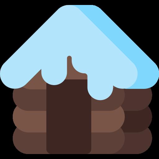cabin, christmas, holiday, house, snow, winter, xmas icon