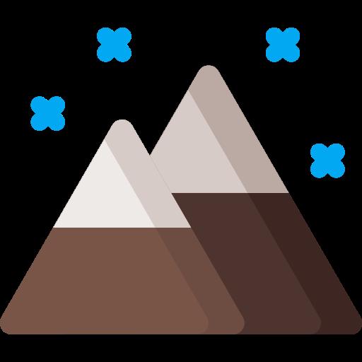 christmas, cloudy, mountain, mountains, snow, weather, xmas icon