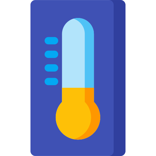 celsius, climate, fahrenheit, forecast, thermometer, weather icon