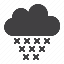 cloud, snow, winter icon