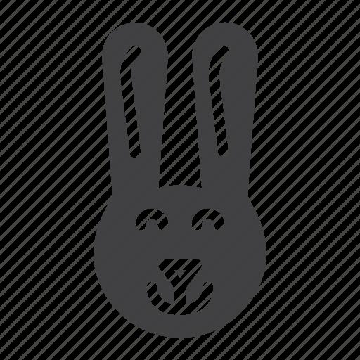 Bunny, head, rabbit icon - Download on Iconfinder