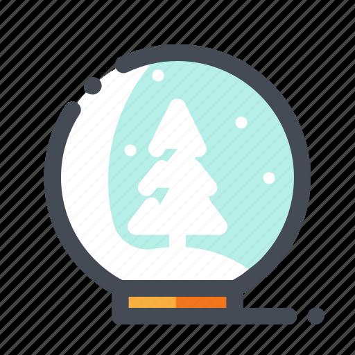ball, christmas, snow, snowflake, tree, winter, xmas icon