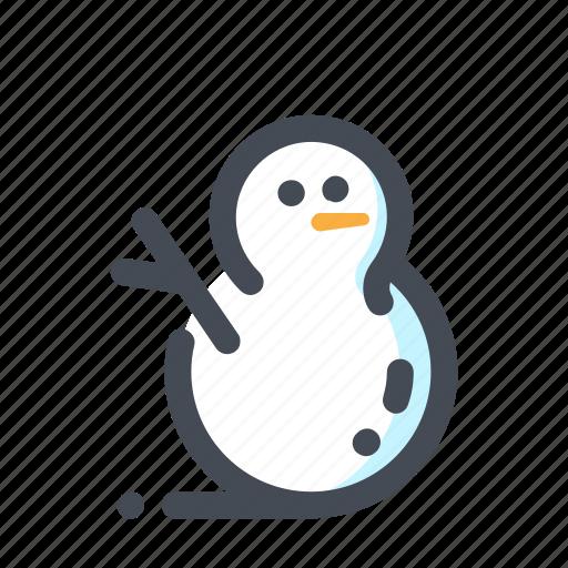 christmas, new year, snow, snowman, vacation, winter, xmas icon