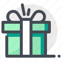 christmas, gift, gift box, holiday, new year, winter, xmas icon