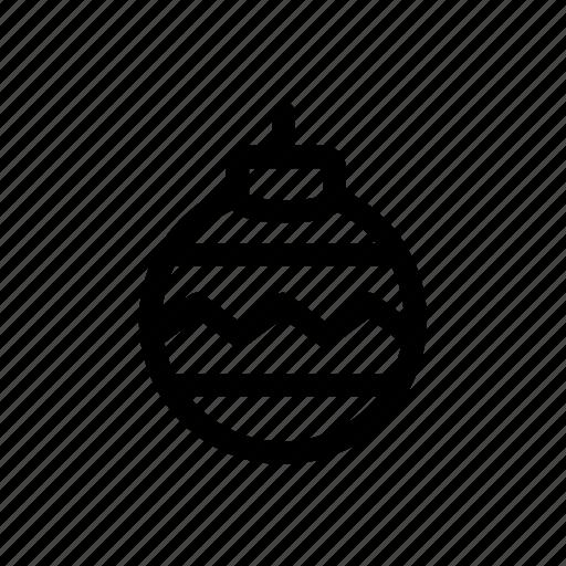 ball, christmas, christmas ball, decoration, ornament, winter icon