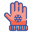 cloth, glove, hand, protect, winter