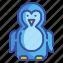 animal, antarctic, penguin, winter, zoo icon