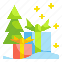 box, christmas, gift, party, present icon