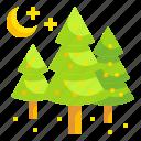 christmas, forest, pine, tree, xmas