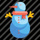 christmas, cool, snowman, winter, xmas
