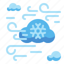 cold, snow, weather, wind, winter icon