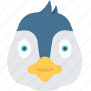 animal, december, holidays, penguin, winter icon