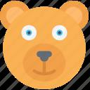animal, bear, december, holidays, winter