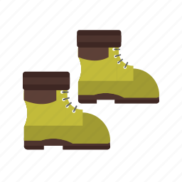 boot, boots, leather, shoes, snow, wearing, winter icon