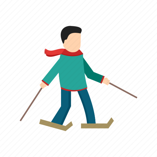 beautiful, fun, ice, skate, skateboarding, skating, snow icon